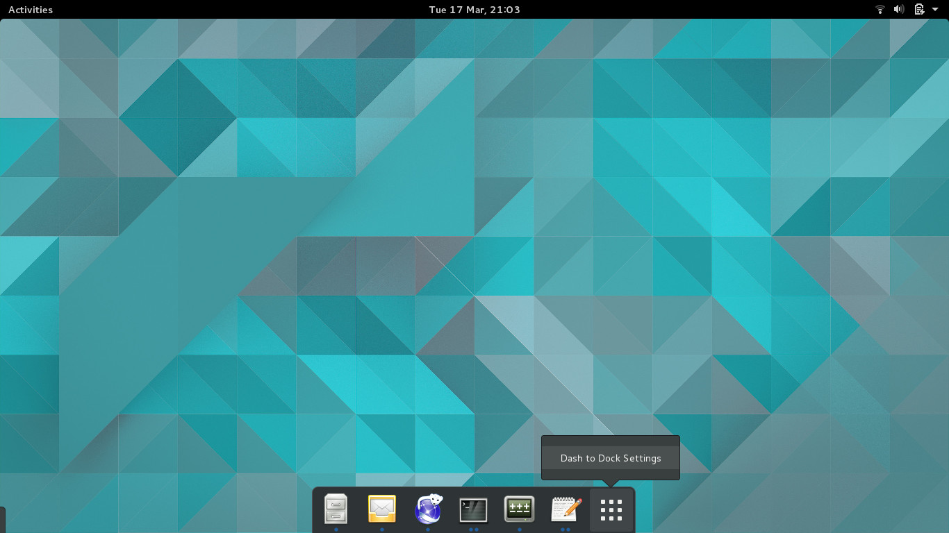 Pop! OS – Adding a dock