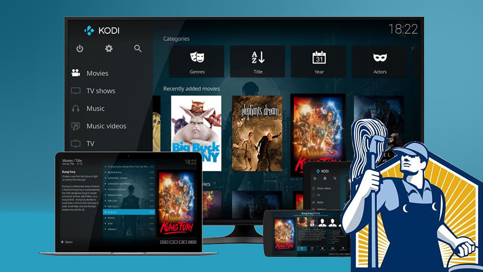 Force Janitor to work with your upgraded Kodi installation